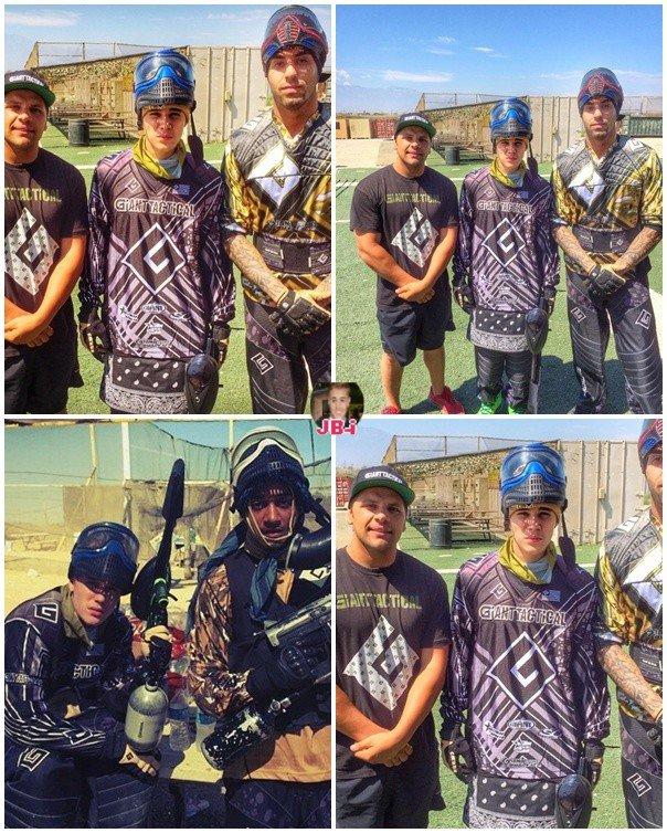 Justin en randonnée.