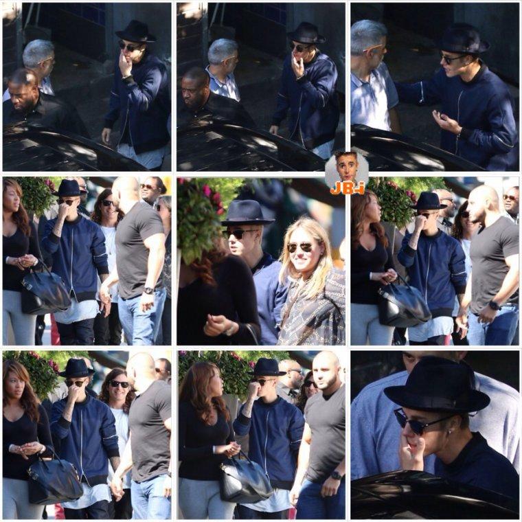 Justin au Canada - Justin à New York.