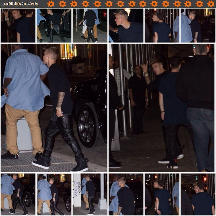 Justin Fashion Rocks 2014.