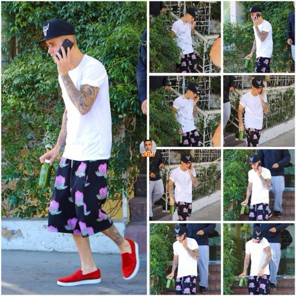 Justin à Los Angeles, Justin à Vegas