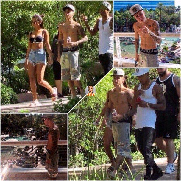 Justin à Las Vegas.