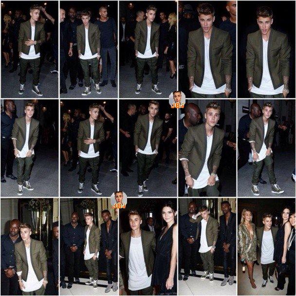 Justin à Paris 1ère journée.