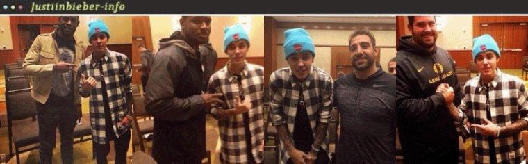 Justin dans une chapelle.
