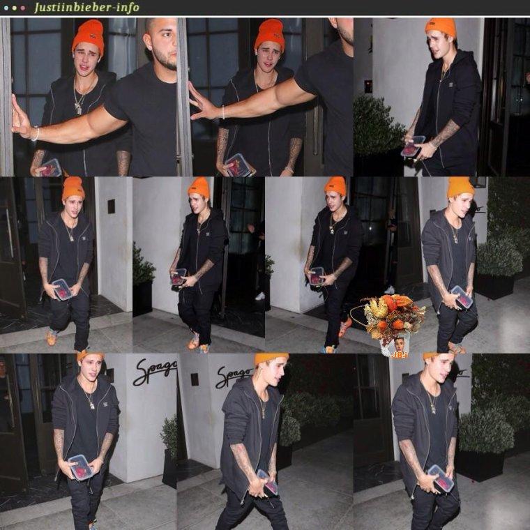 Justin à Los Angeles.