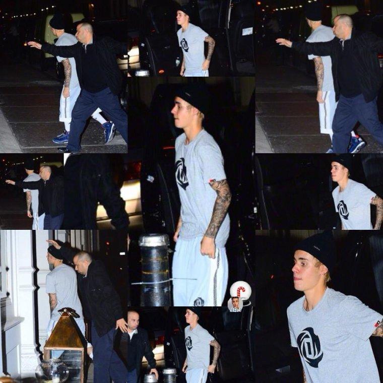 Justin à New York.