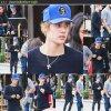 Justin au Il Pastaio à Beverly Hills.