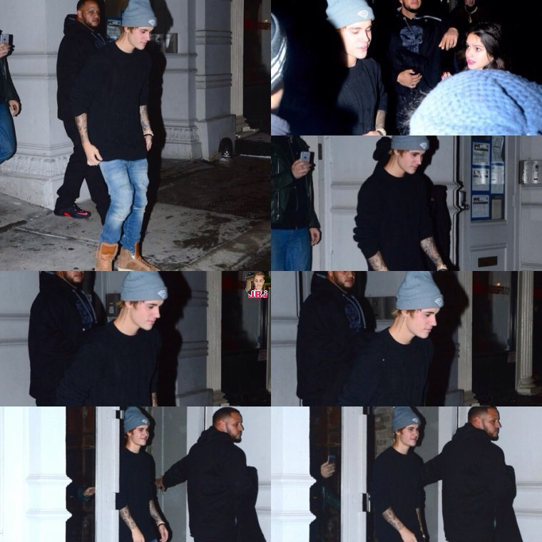 Justin à New York - Justin à Los Angeles.
