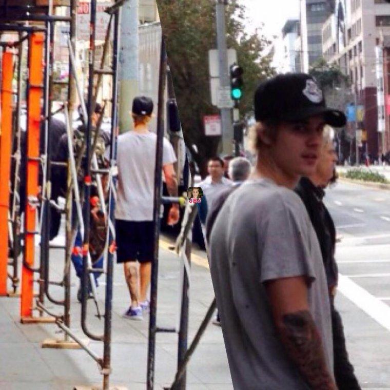 Justin à San Francisco.