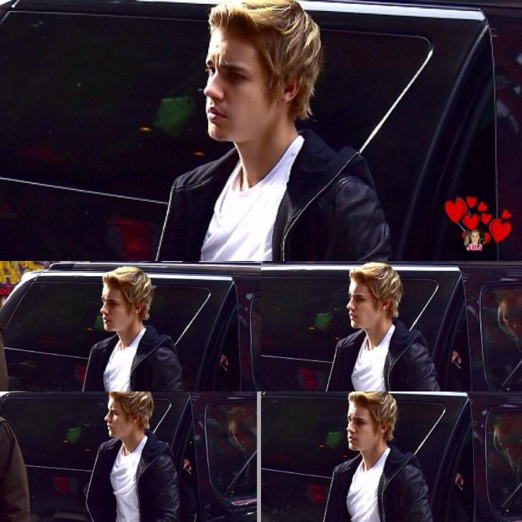Justin à New York City.
