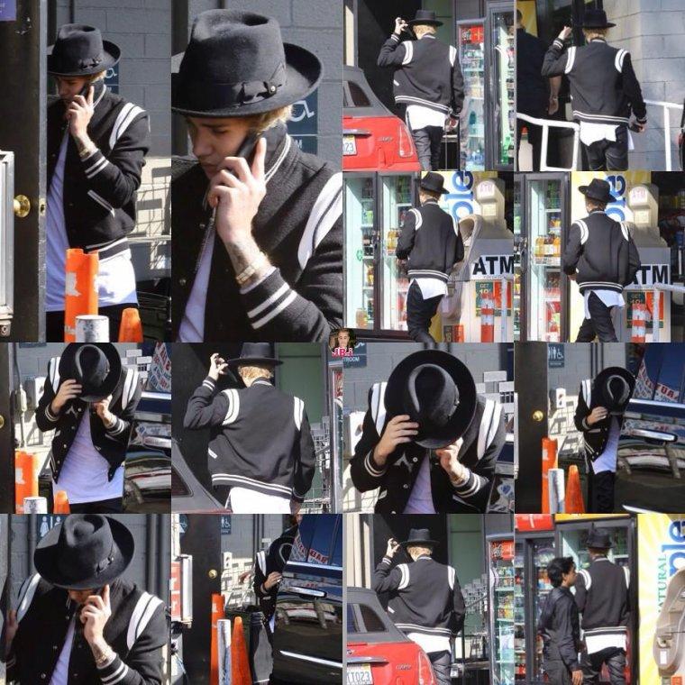 Justin en Californie.