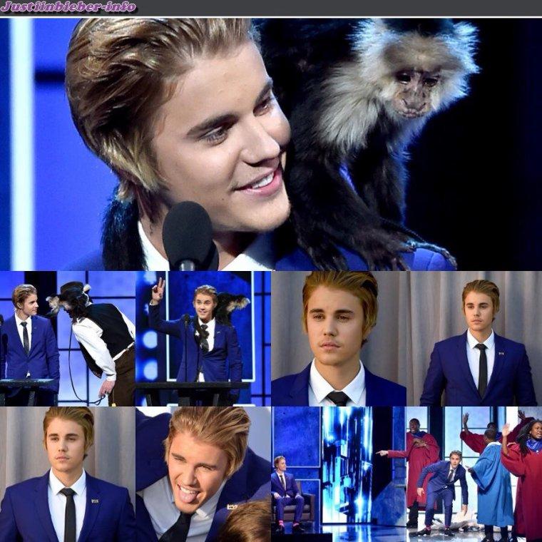 Justin au  Bieber Roast.
