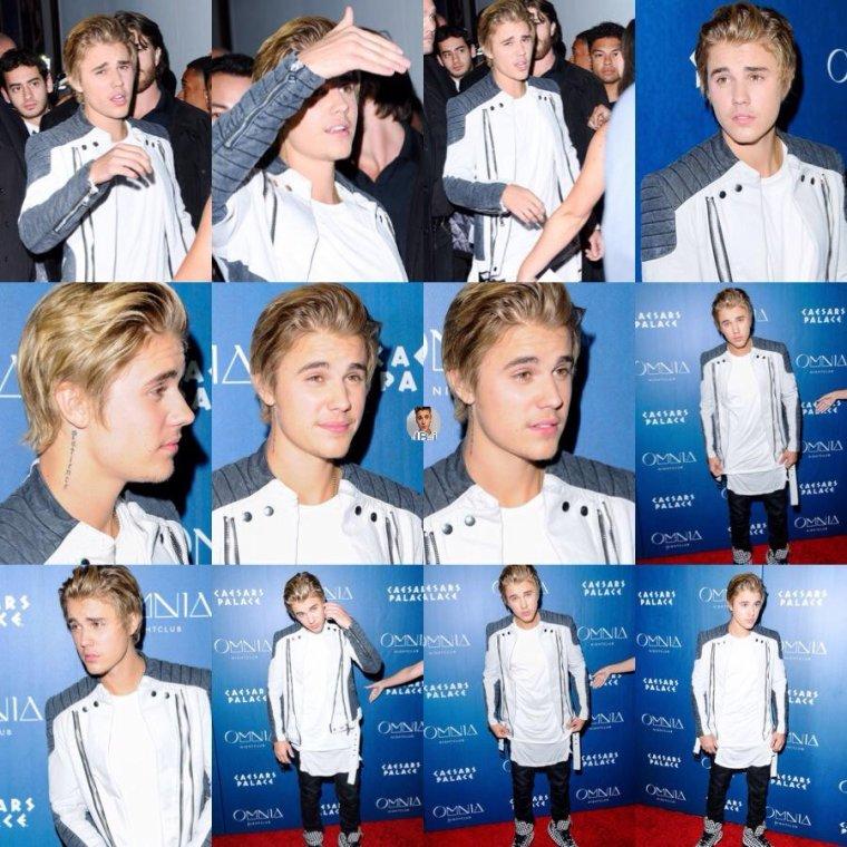 Justin au Omnia Nightclub de Las Vegas.