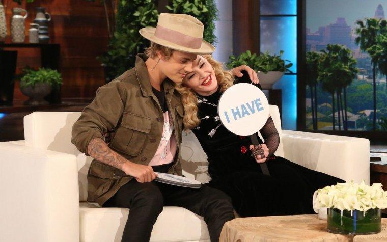 Justin au Ellen Show.