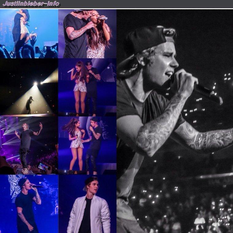 Justin au Honeymoon Tour à Miami