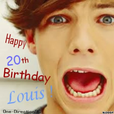 Happy Birthday Louis !!