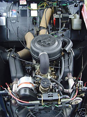 2cv charleston moteur