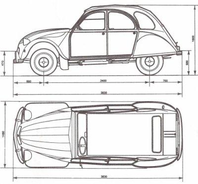 La 2cv sous ses coutures la suite ceci n 39 est pas une - Dessin voiture profil ...