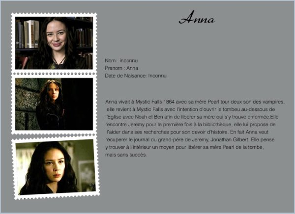 •Anna