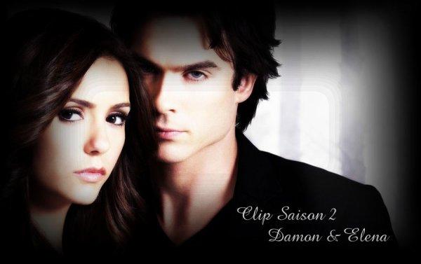 Vidéo des scènes entre Damon / Elena durant la saison 2 a telecharger ou a regarder