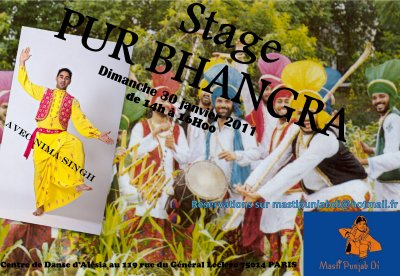 STAGE BHANGRA
