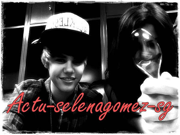 Nouvelle photo de Justin and Selena ♥