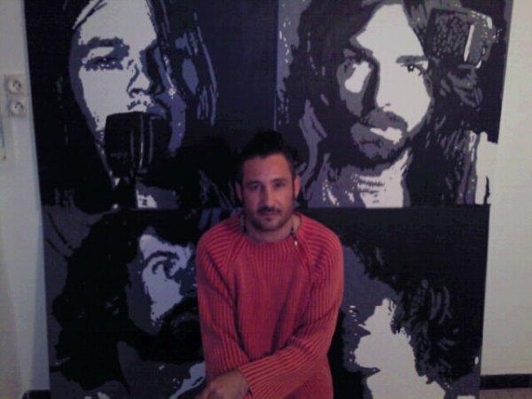Peinture sur toile Pink Floyd