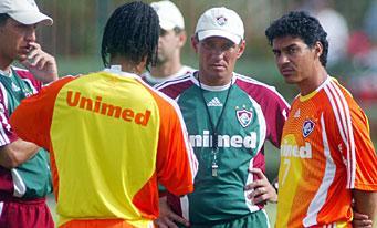 Paulo César Gusmão teste un nouveau duo en attaque! (Alex Dias à droite)