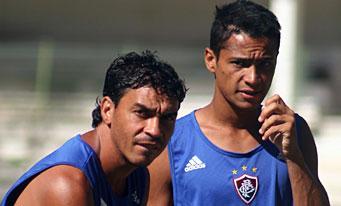 Alex Dias à l'entraînement! (Ici aux côtés de Rafael)