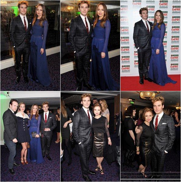 Sam au Jameson Empire Award 2013