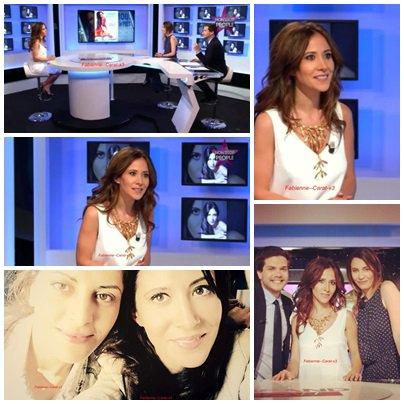 Suite de l'article 14  photo personnelle divers de Fabienne Carat  /Fabienne dans touche pas à mon poste ce 22 septembre