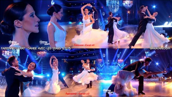 Article 42; Prime 8 des deux danses de Fabienne  Carat, Points,tableau des classements éliminations liens Vidéo photos personnelle