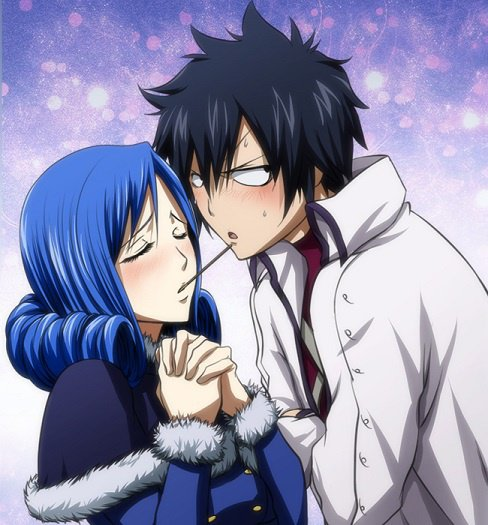 Le couple Gray/Juvia (Gruvia)