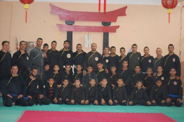 Photo du QWAN KI DO à la wilaya de Saida