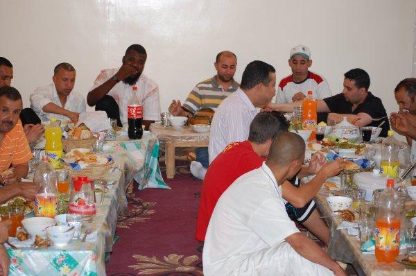 reunion des responsables des willayas avec dejeuner