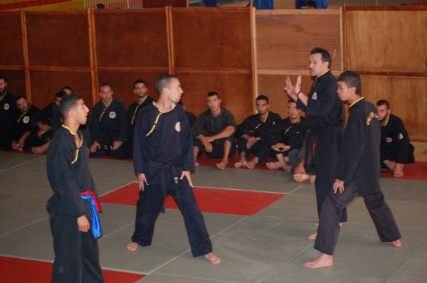 photo du stage d'arbitrage du 14/10/2011