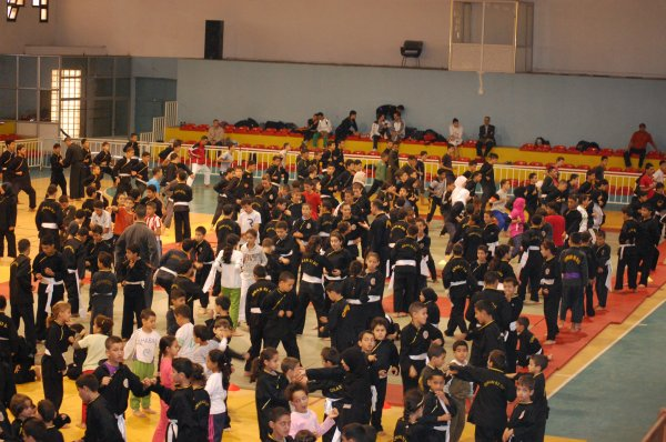 photos du stages pour enfants de QWAN KI DO du 28/10/2011
