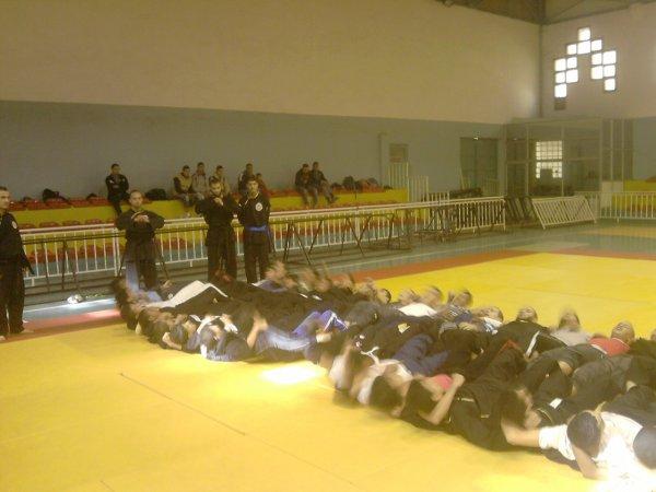 photos du stage technique pour les adultes qui a eu lieu le 18/11/2011