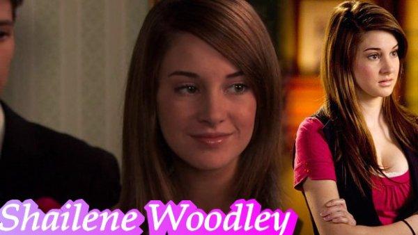 Présentation de Shailene Woodley alias Amy Juergens la vie secrète d'une ado ordinaire