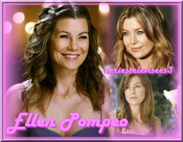Présentation d'Ellen Pompeo alias Meredith Grey's