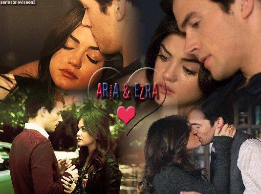 Présentation du couple Aria et Ezra Pretty little liars