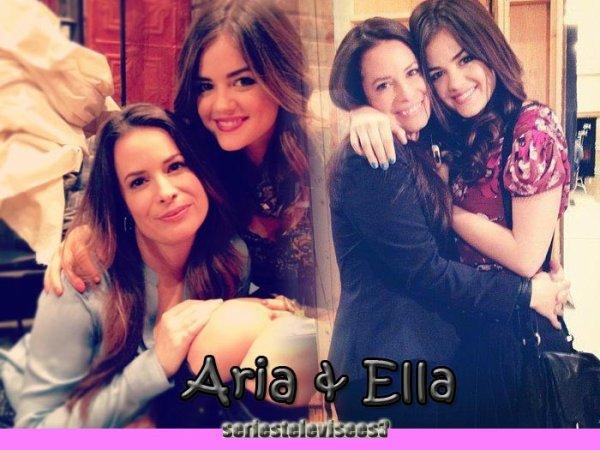 Présentation de l'amitié mère fille Aria et Ella