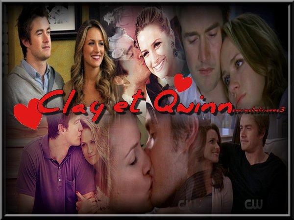 Présentation du couple Quinn et Clay dans one tree hill