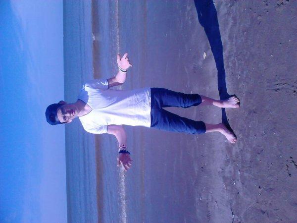 Moi à la plage :-P
