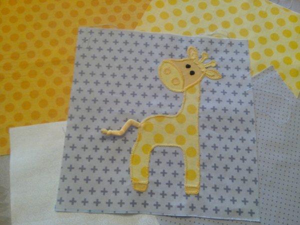 Thème Elephant -Girafe / Chambre grise  LA COUETTE