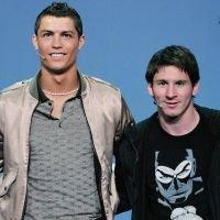 Lionel Messi & Cristiano Ronaldo (L)
