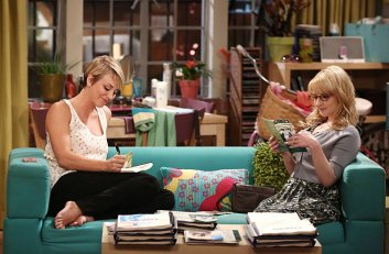 "Kaley Cuoco Stills de ""The Big Bang Theory"" 8x02 - The Junior Professor Solution"