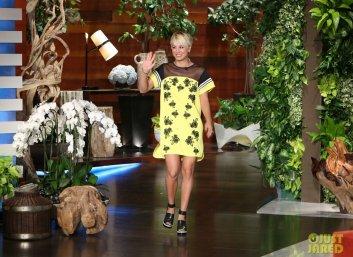 Kaley Cuoco The Ellen DeGeneres Show le 19 septembre