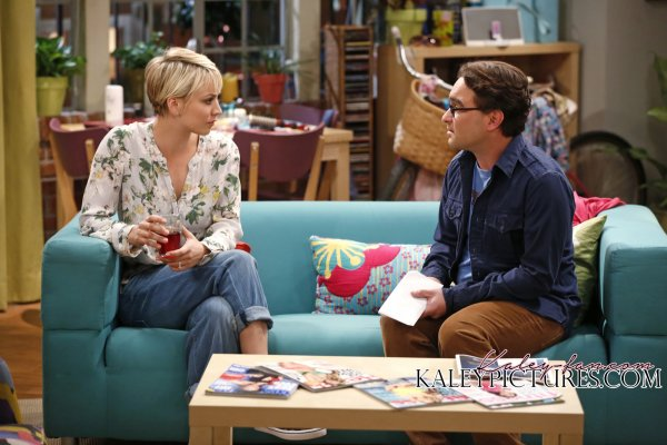 "Kaley Cuoco Stills de ""The Big Bang Theory"" 8x06 - The Expedition Approximation"
