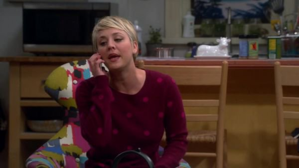 "Kaley Cuoco Screencaps de ""The Big Bang Theory"" 8x07 - The Misinterpretation Agitation"