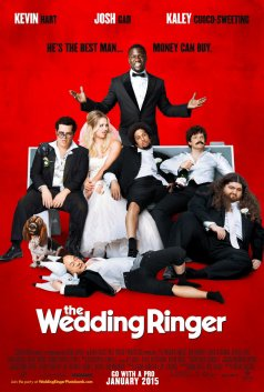 "Kaley Cuoco ""The Wedding Ringer"" Nouvelle affiche"